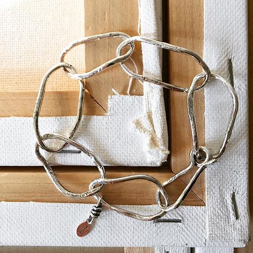 Entangled Link Bracelet
