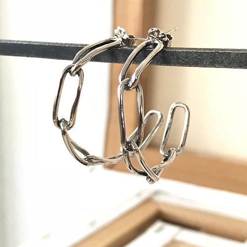 Chain Link Hoop S, M