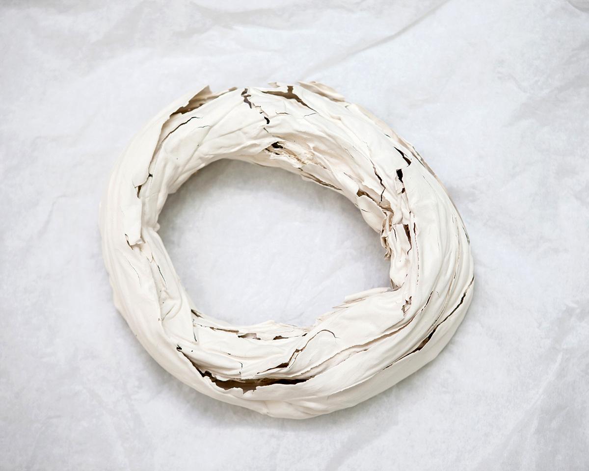 "Turban #2, ceramic, 27"" x 21"" x 10"", 2013"
