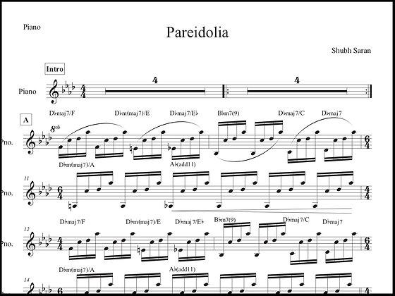 Pareidolia • Piano