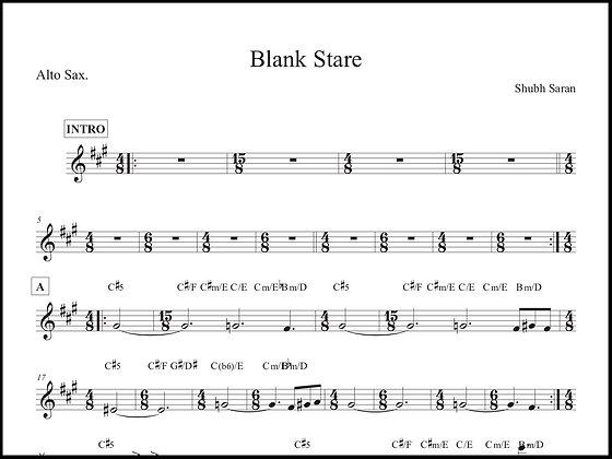 Blank Stare • Alto Sax