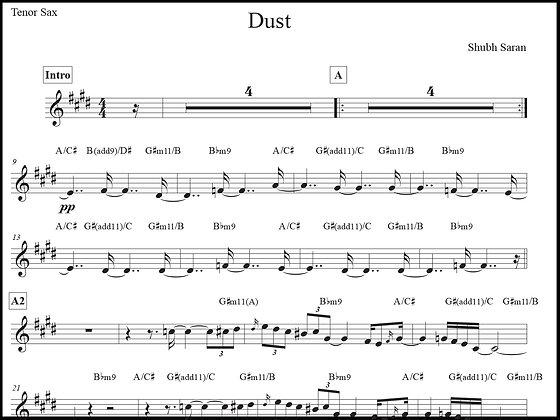 Dust • Tenor Sax