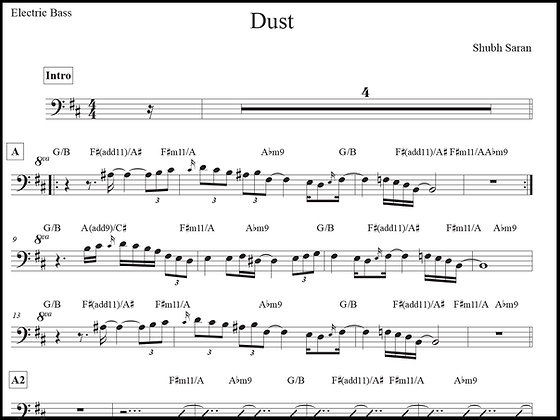 Dust • Bass Guitar