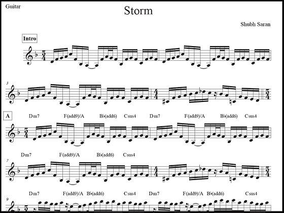 Storm • Guitar