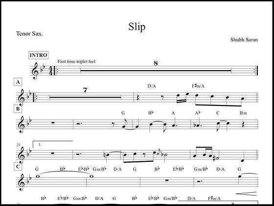 Slip • Tenor Sax