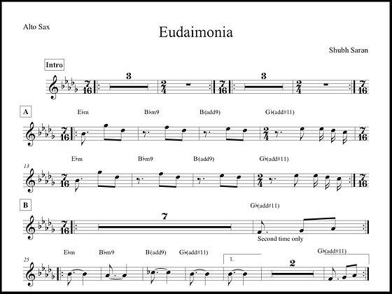 Eudaimonia • Alto Sax