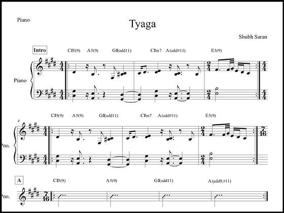Tyaga • Piano