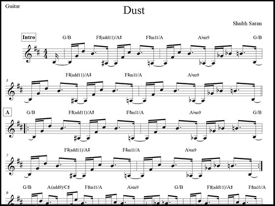 Dust • Guitar