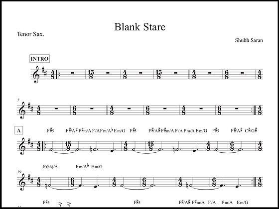 Blank Stare • Tenor Sax