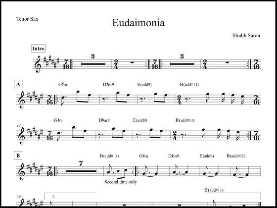 Eudaimonia • Tenor Sax