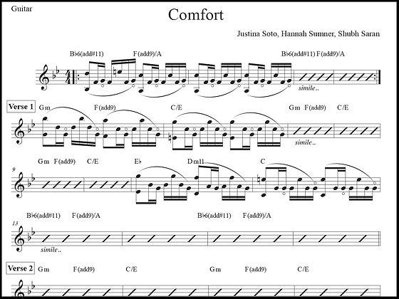 Comfort • Guitar