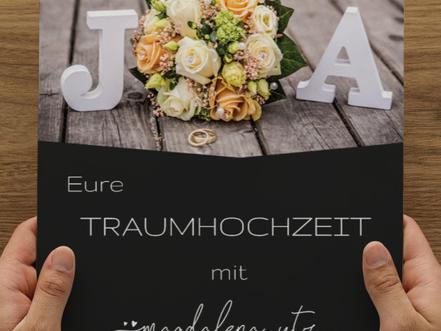 Hochzeitsmappen zur unverbindlichen Information