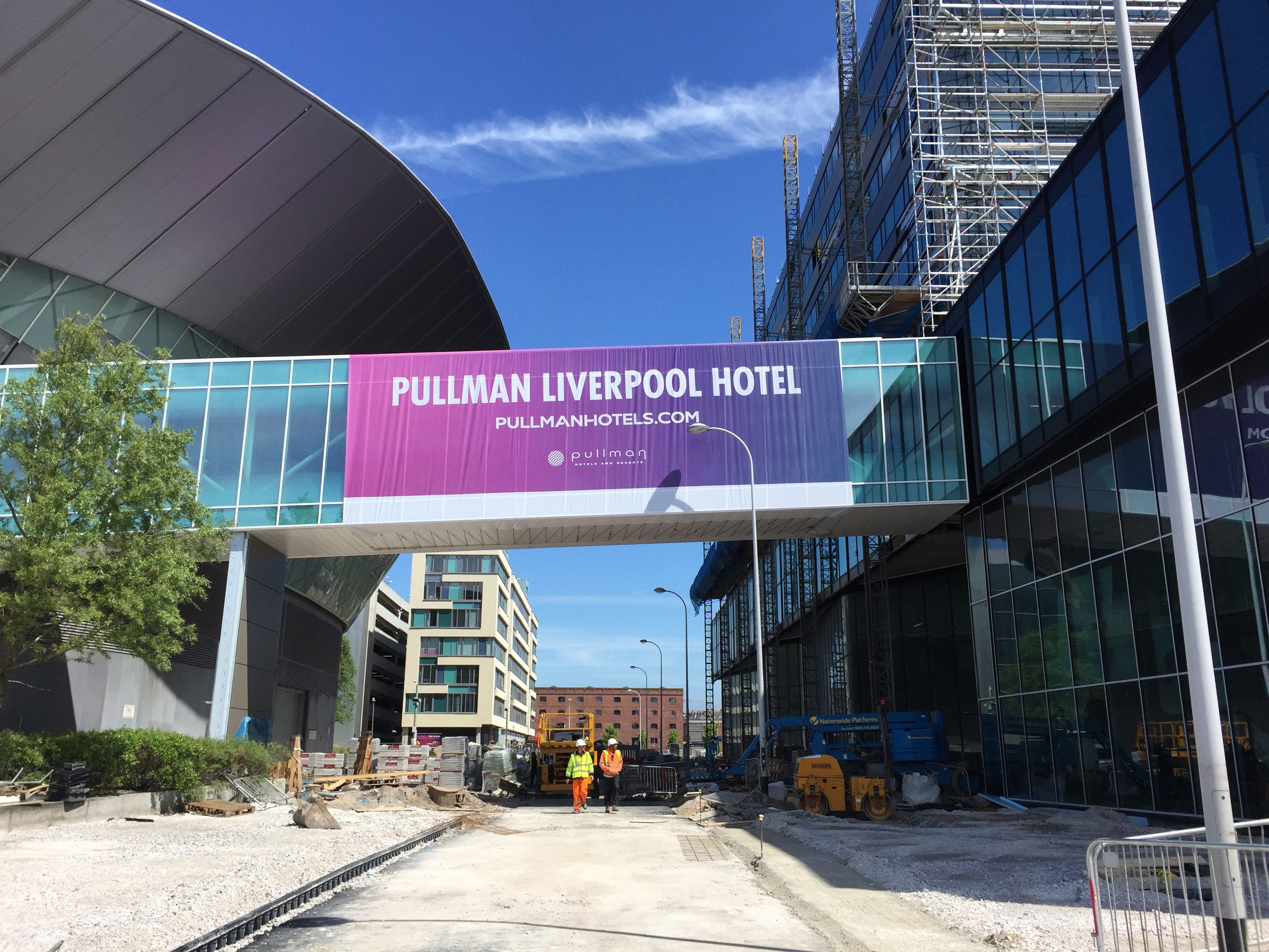 Liverpool Promotional Banner