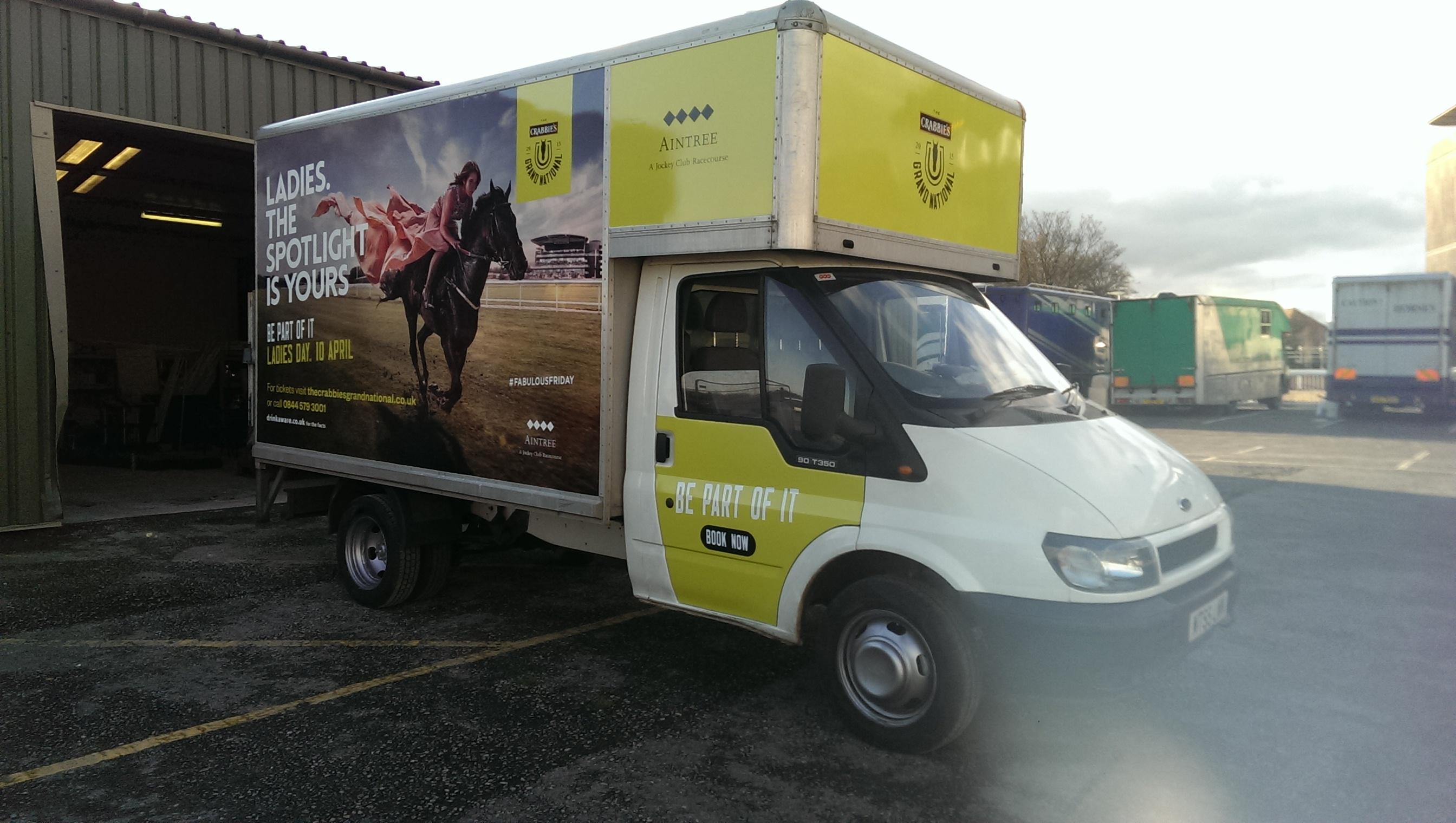 Delivery Van Vinyls