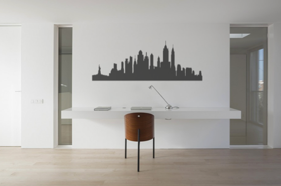 New York Sky Line Wall Sticker