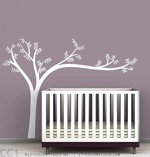 Wall Art Tree - White