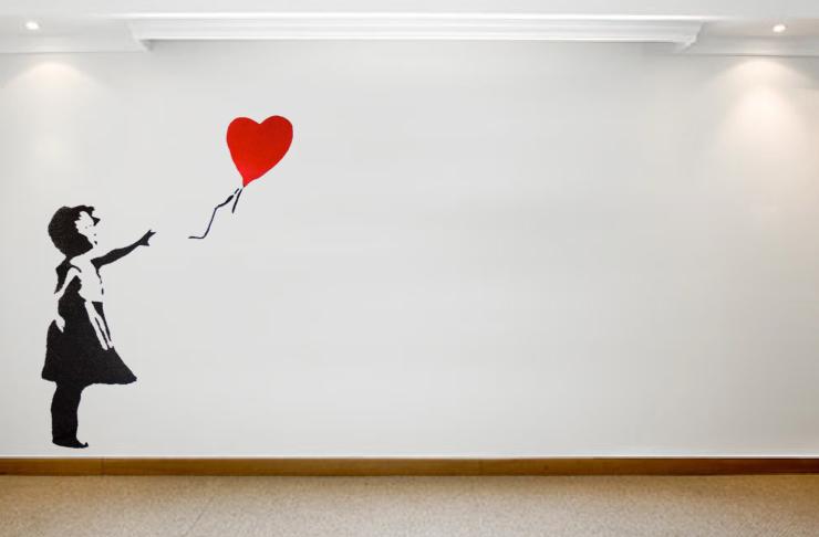 Banksy Wall Sticker