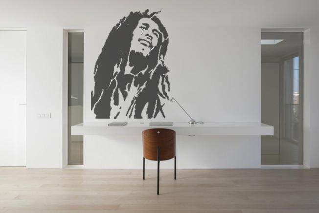 Bob Marley Wall Sticker