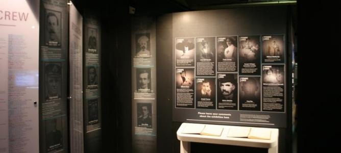 Titanic Exhibition