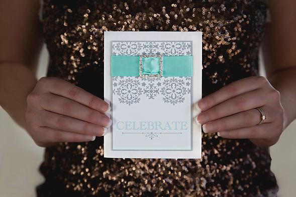 Luxe Celebrate card