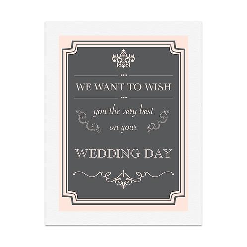 PEACH VINTAGE WEDDING