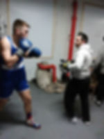 NJ boxing training
