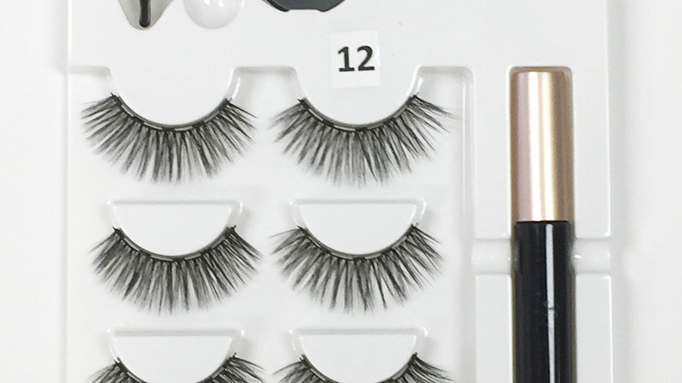 Magnetic Lashes #12