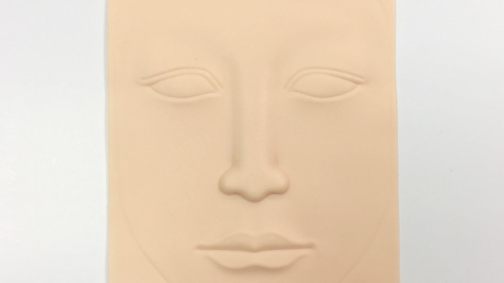 SILICONE 3D FACE PRACTICE SKIN