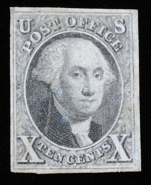 Us Scott #2 1847 10C - 4 Large Margins Possibly Unused Or Cleaned