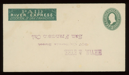 Paid River Express Stockton & San Francisco On U311 Western Cover