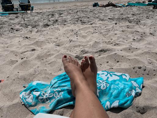 Agua Fresca Recipe + Beach Bonding
