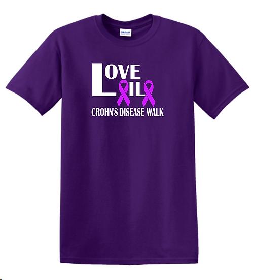 LoveLaila Crohn's Walk Tee-Unisex