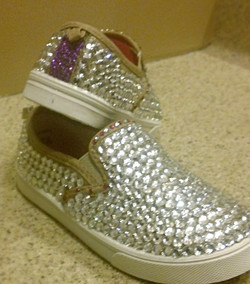 Rhinestone Girl Shoes