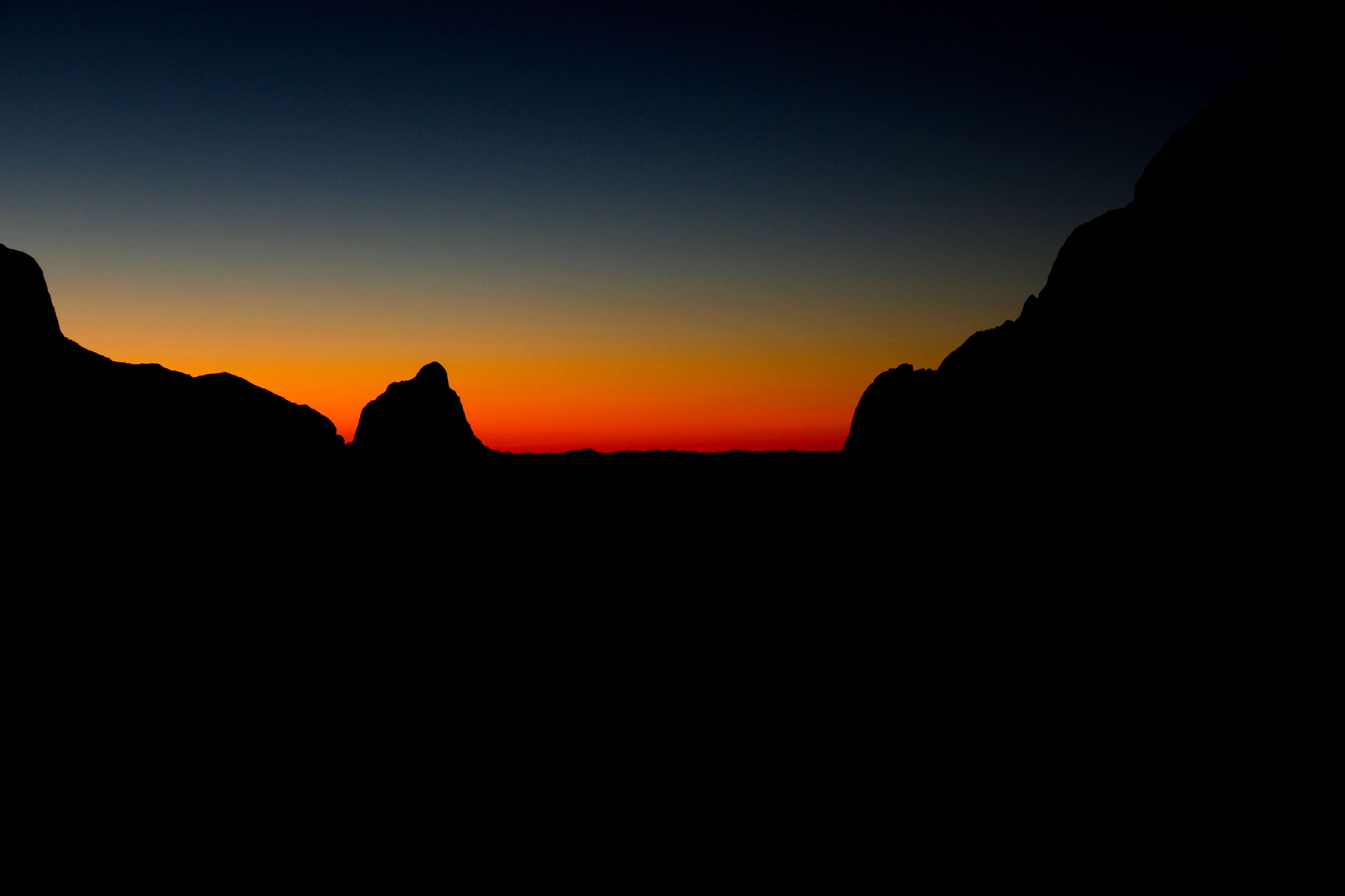 The Window at Dusk - Big Bend - TX