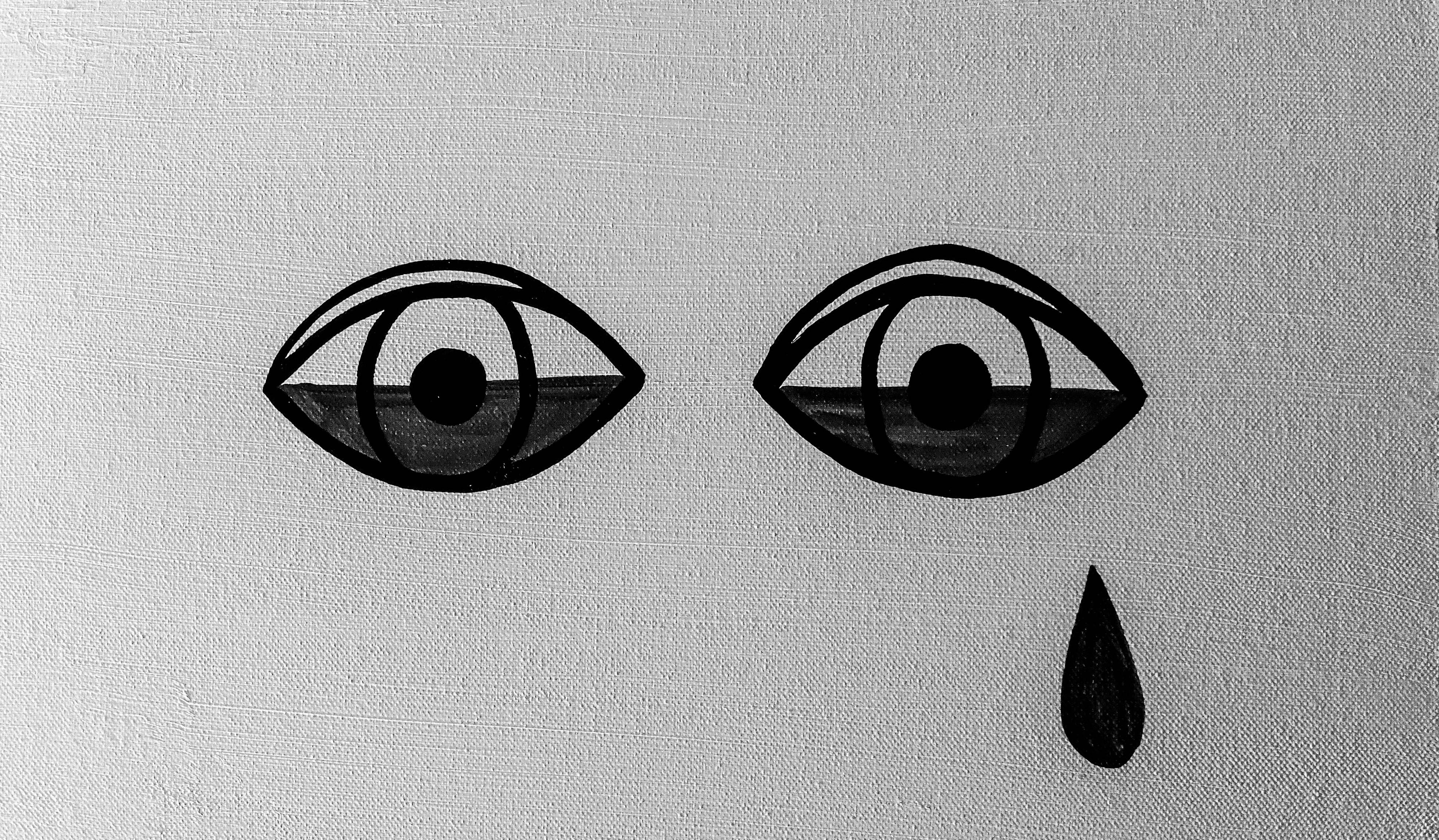 Crying Eye - Venice - CA