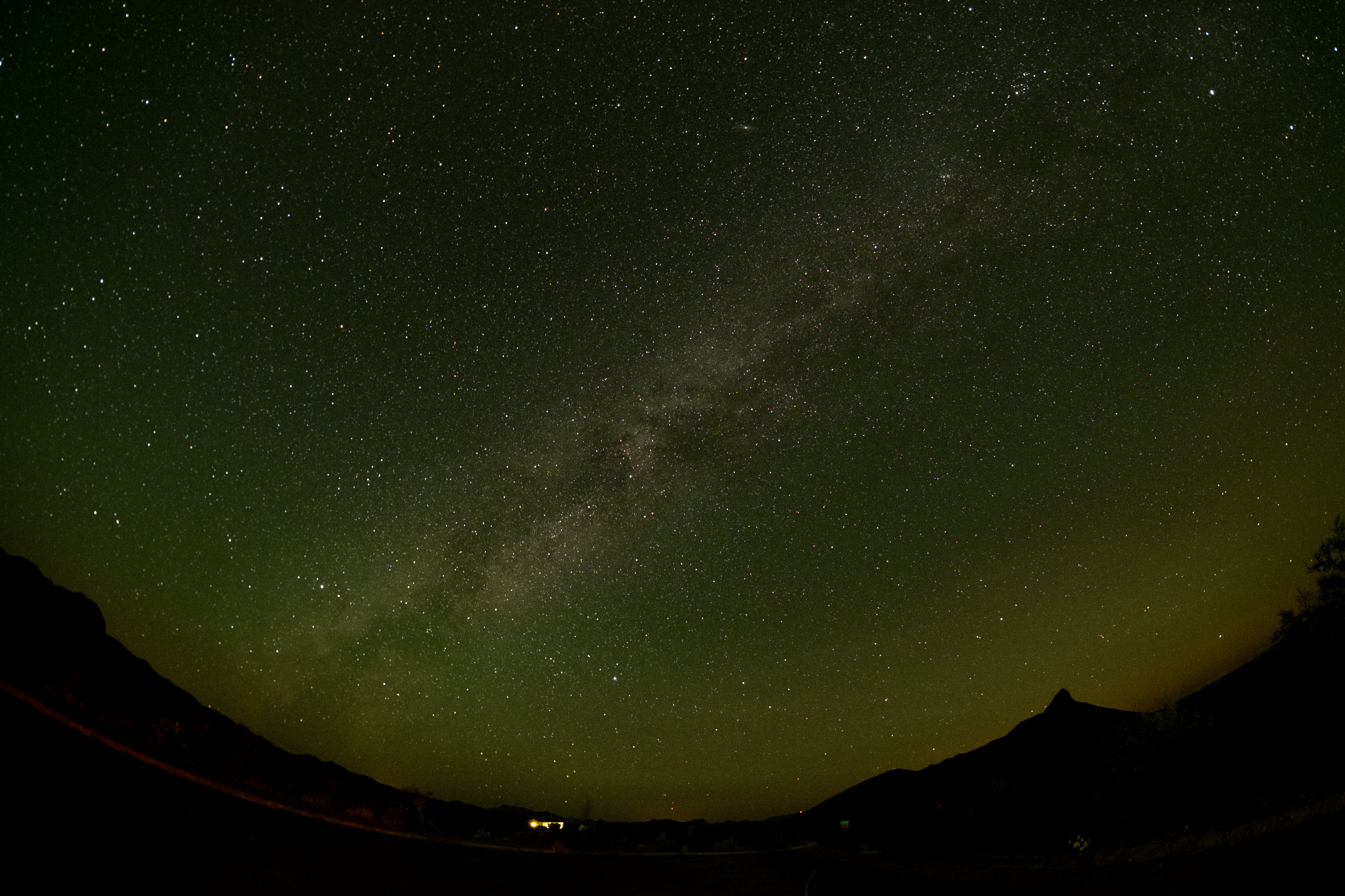 Panther Junction Milkyway - Big Bend