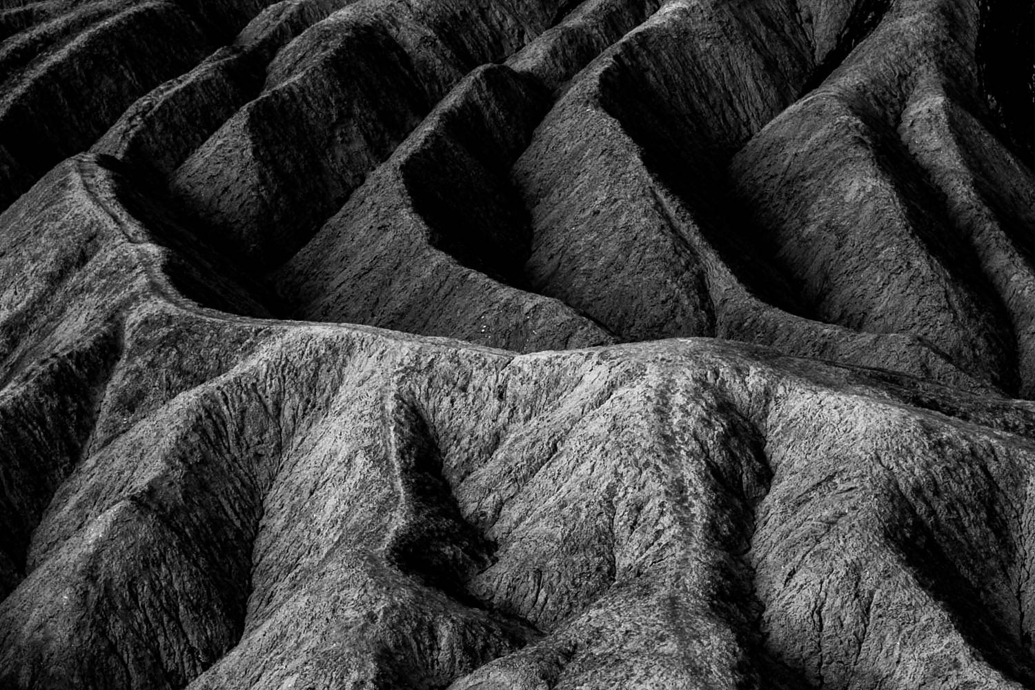The Land Curves - Death Valley - CA