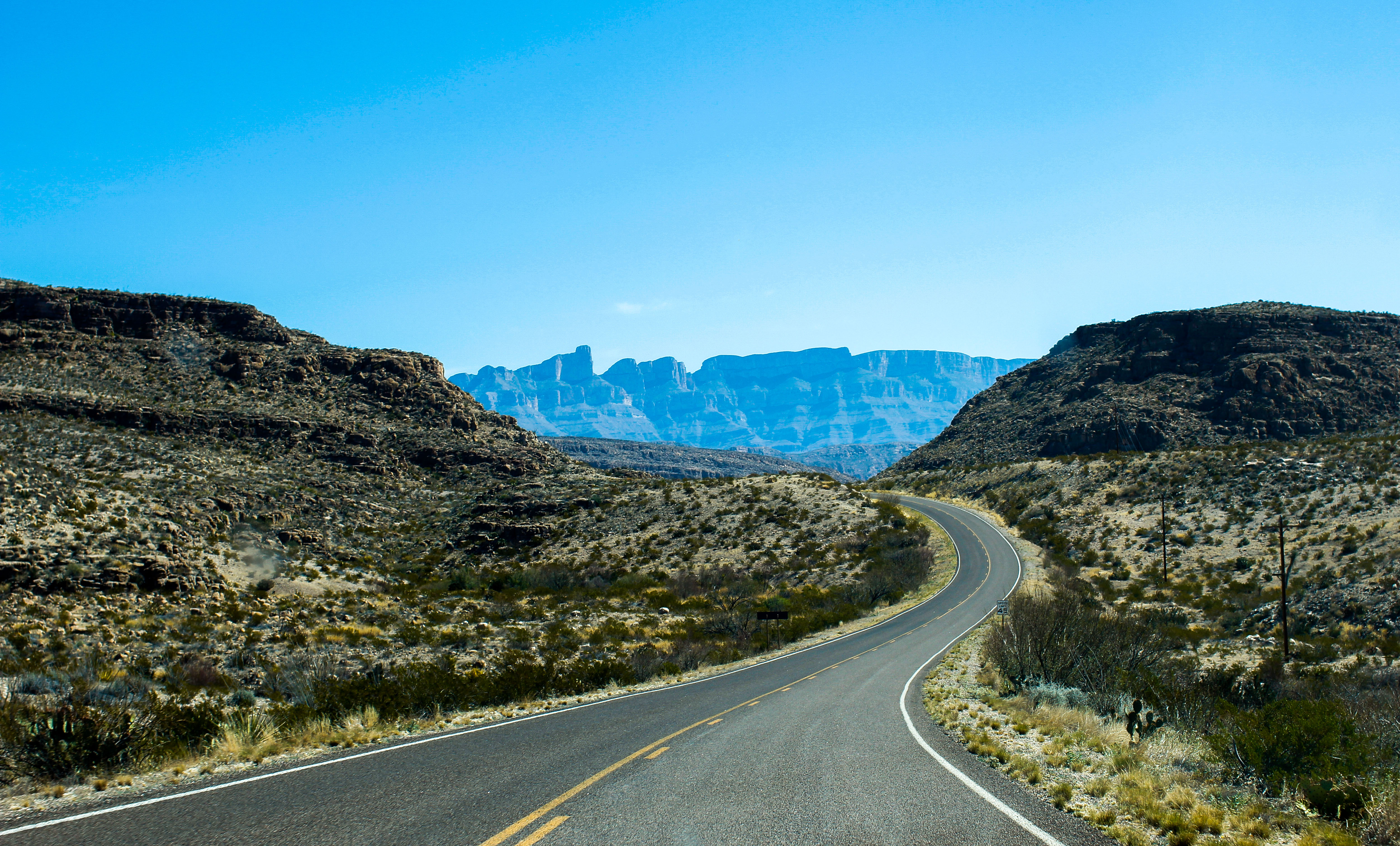 Road to Mexico - Big Bend - TX