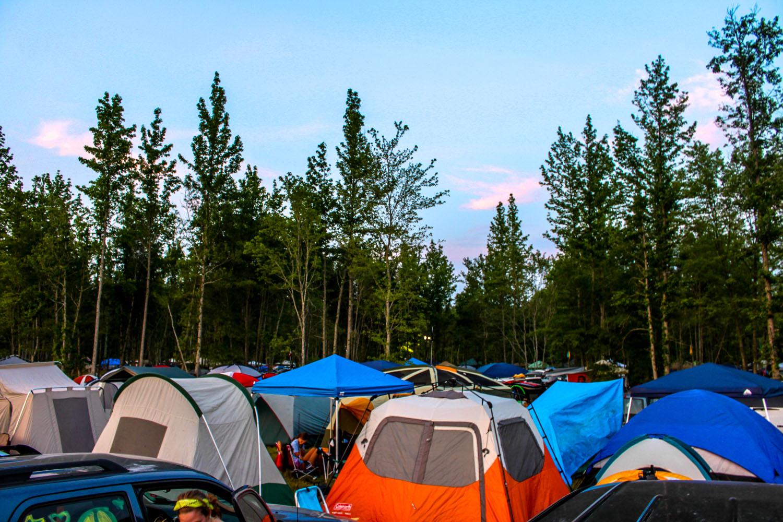 Campt at Bonnaroo