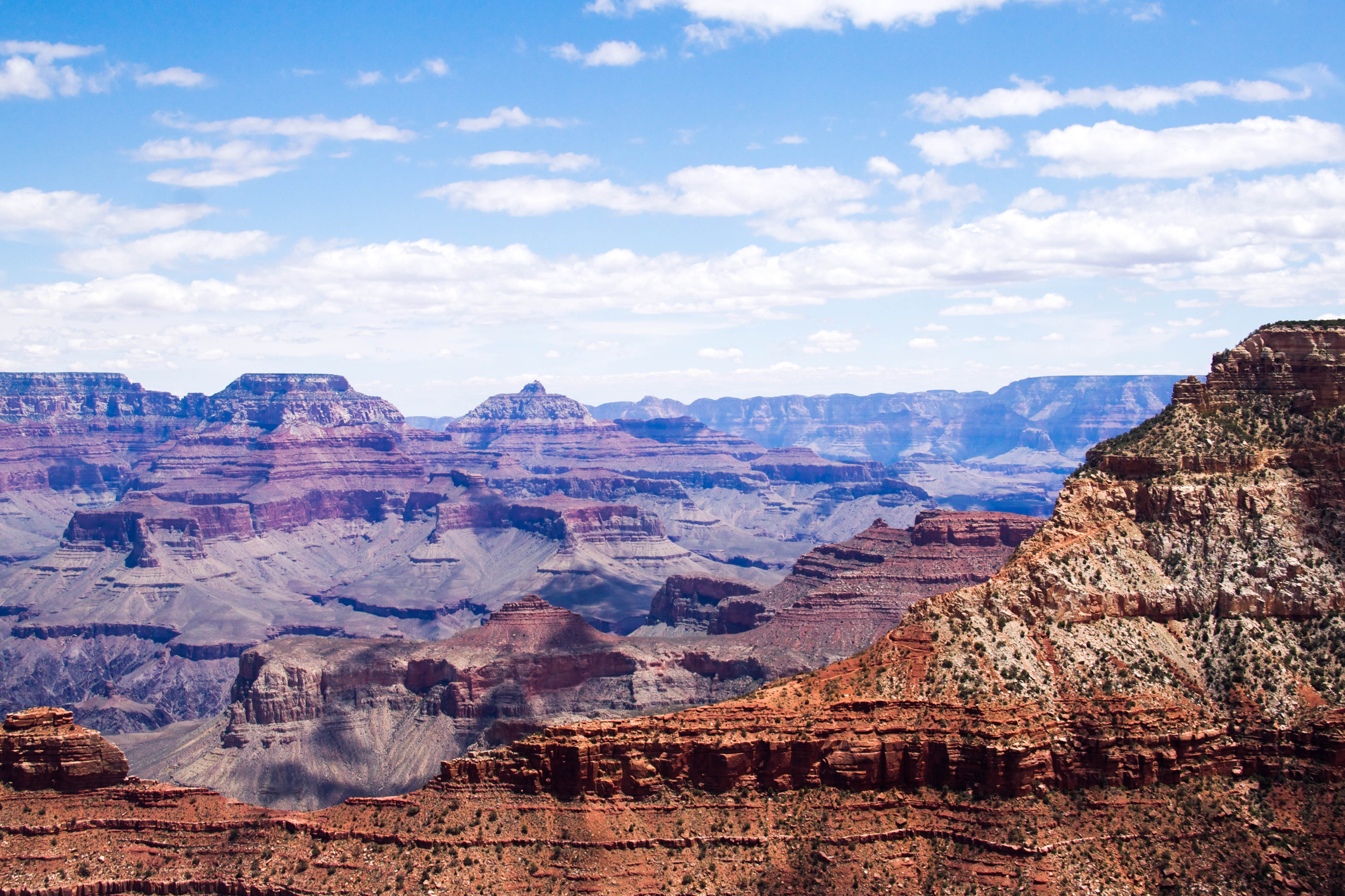 Layers of Canyon - Grand Canyon - AZ