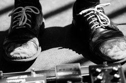 The Feet of a Musician
