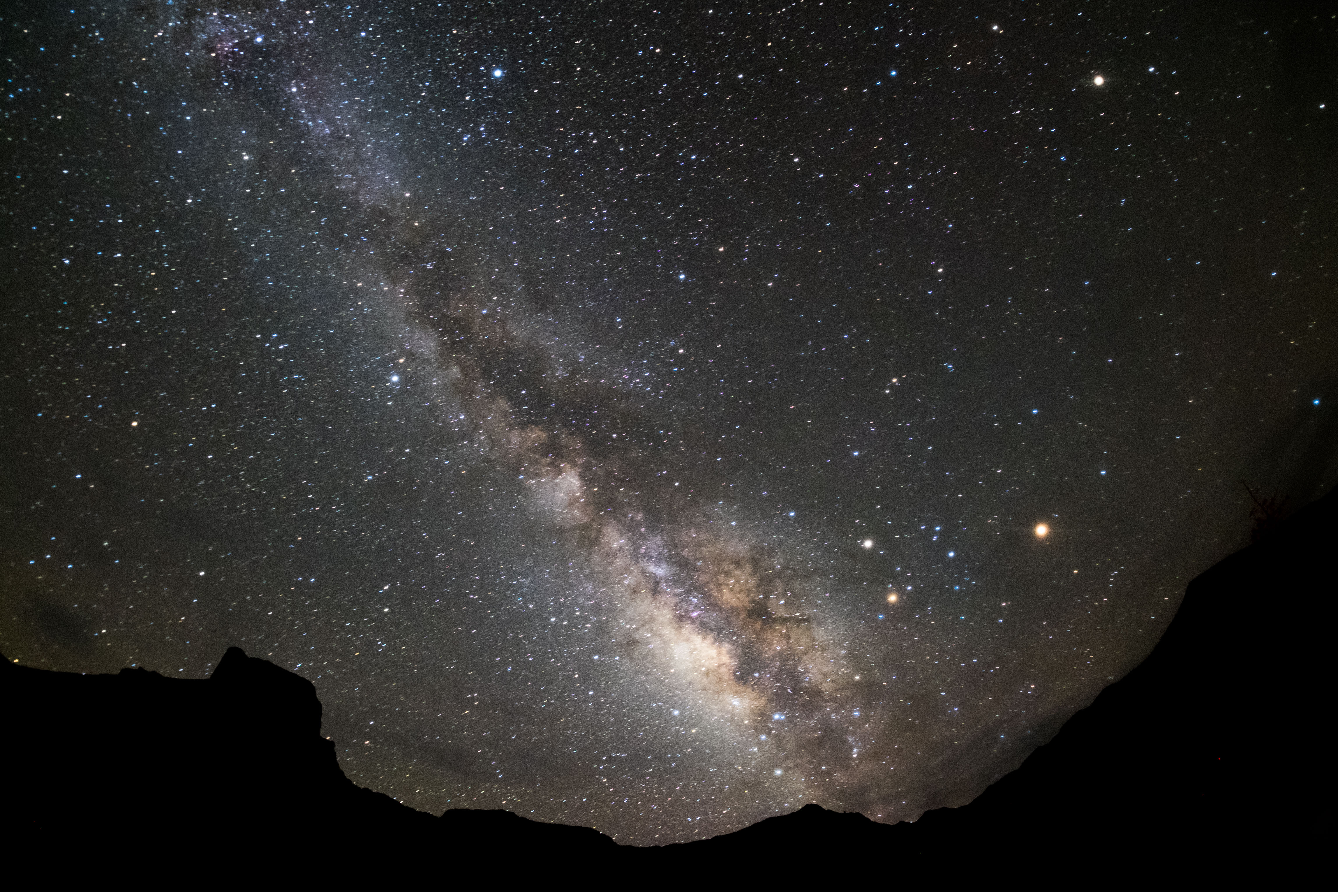 Chisos Basin Summer Milkyway