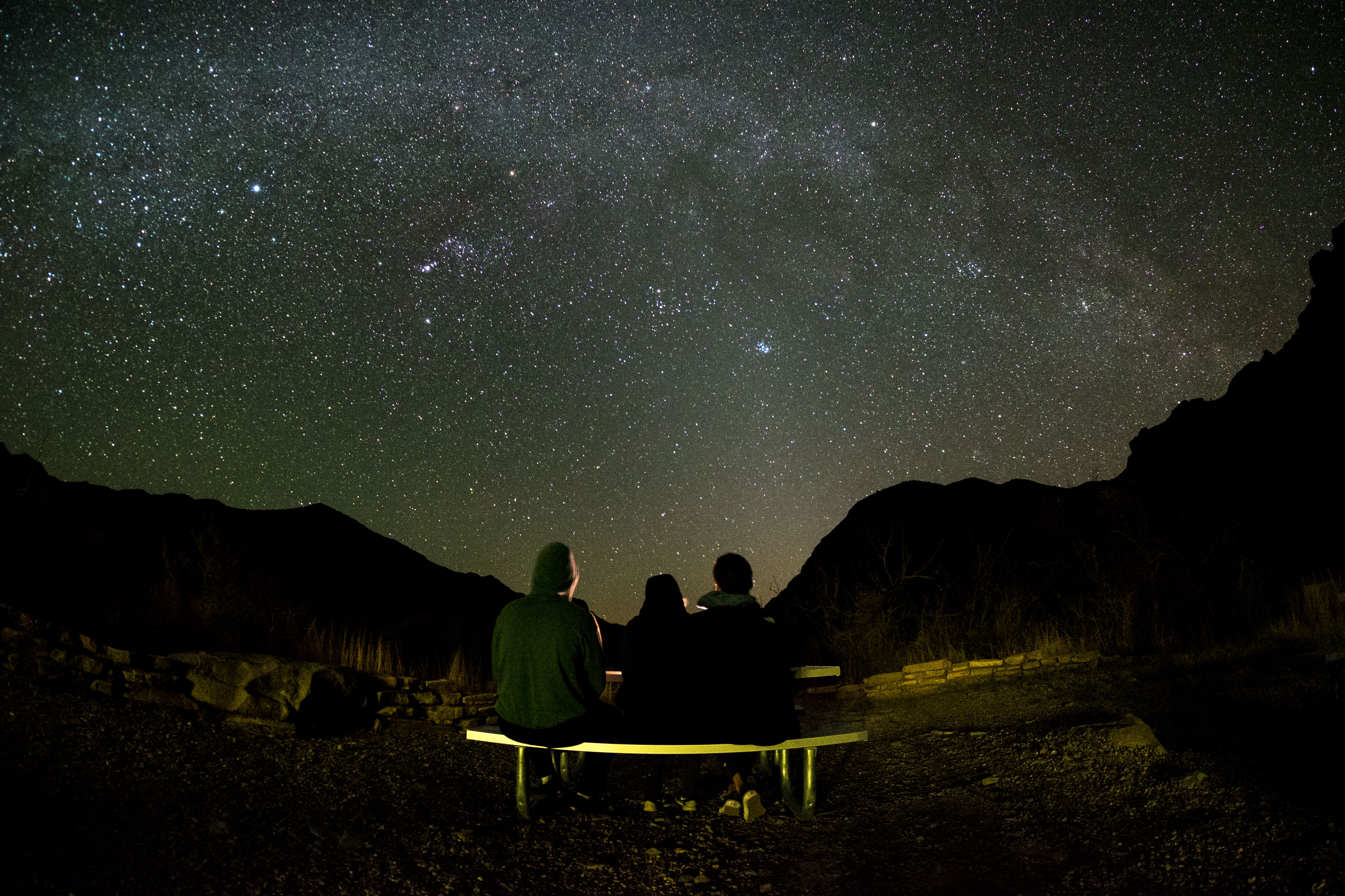 The Winter Stars - Big Bend - TX