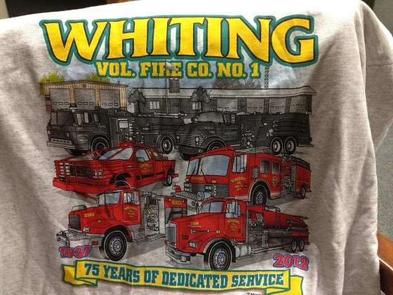 I Support Whiting Vol Fire Company s/s T- Shirt