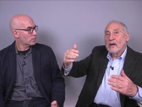 With Joe Stiglitz