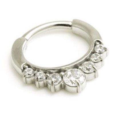 Large Jewelled Septum Ring
