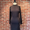 Thumbnail: Robe noire avec dos ouvert et attaché au cou