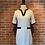 Thumbnail: Robe blanche et noire