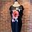 Thumbnail: Robe avec grosse fleur