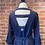 Thumbnail: Robe bleu marin